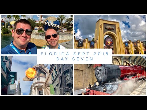 Walt Disney World & Florida Vlog - Sept 2018 - Day 7 - Universal Studios