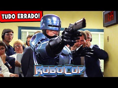 Erros absurdos em Robocop que você não percebeu?!