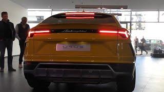 2018 NEW Lamborghini Urus - Start Up & LOUD EXHAUST SOUND!