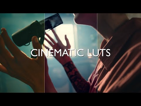 100+ Cinematic LUTs For Adobe Premiere Pro, After Effects, Davinci Resolve and more.