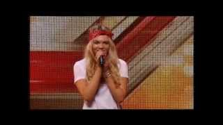 THE X FACTOR 2015 AUDITIONS - LOUISA JOHNSON SINGS WHO'S LOVING WHO