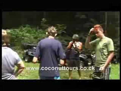 Jungle adventure in Rarotonga, Cook Islands - Coconut Tours