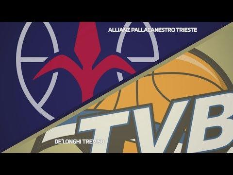 HIGHLIGHTS/ Allianz Pallacanestro Trieste - De'Longhi Treviso 69-61