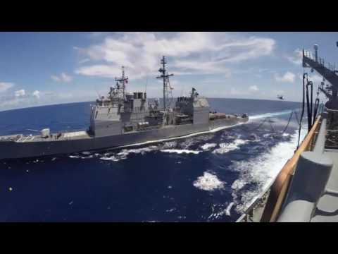 Military Sealift Cadet Ship USNS Rainier