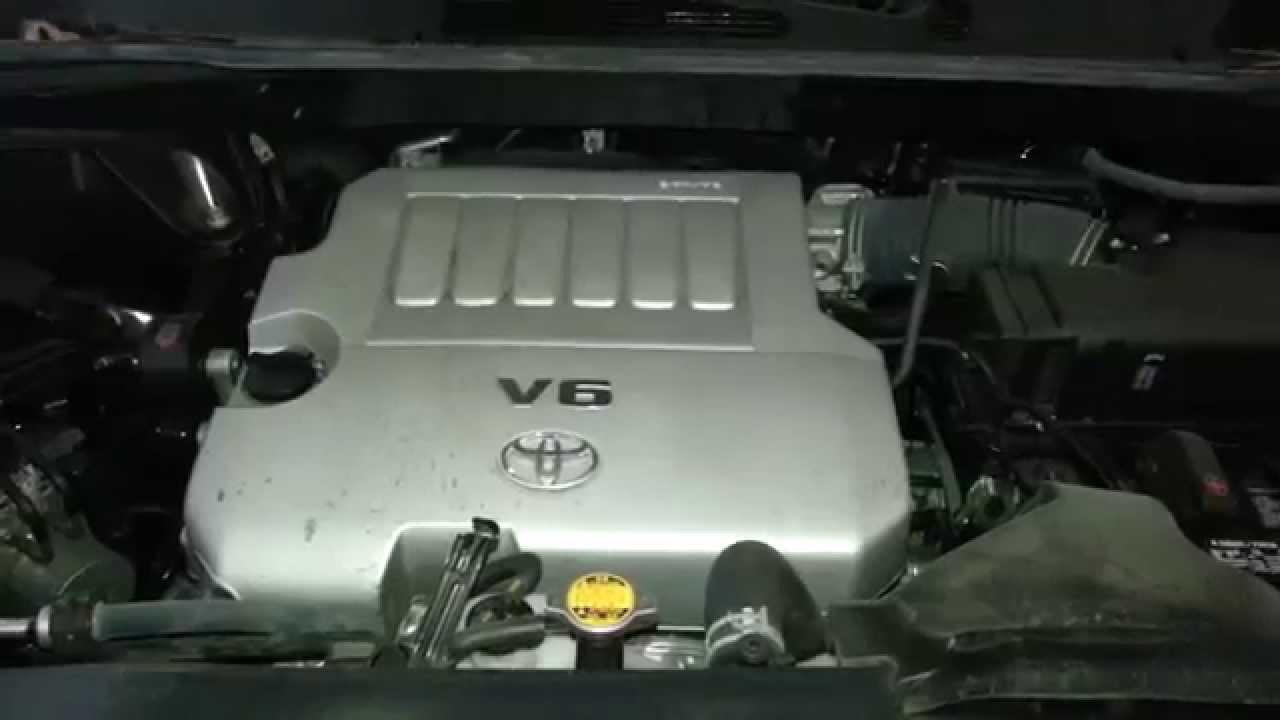 2013 toyota highlander engine idling after oil change 2gr fe 3 5l v6 motor sound noise