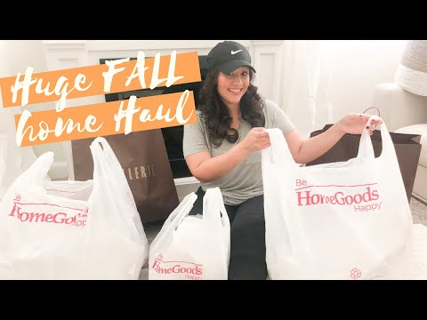 NEW! Fall 2019 Home Decor Haul | ZGallerie Dupes  | Hello Fall!