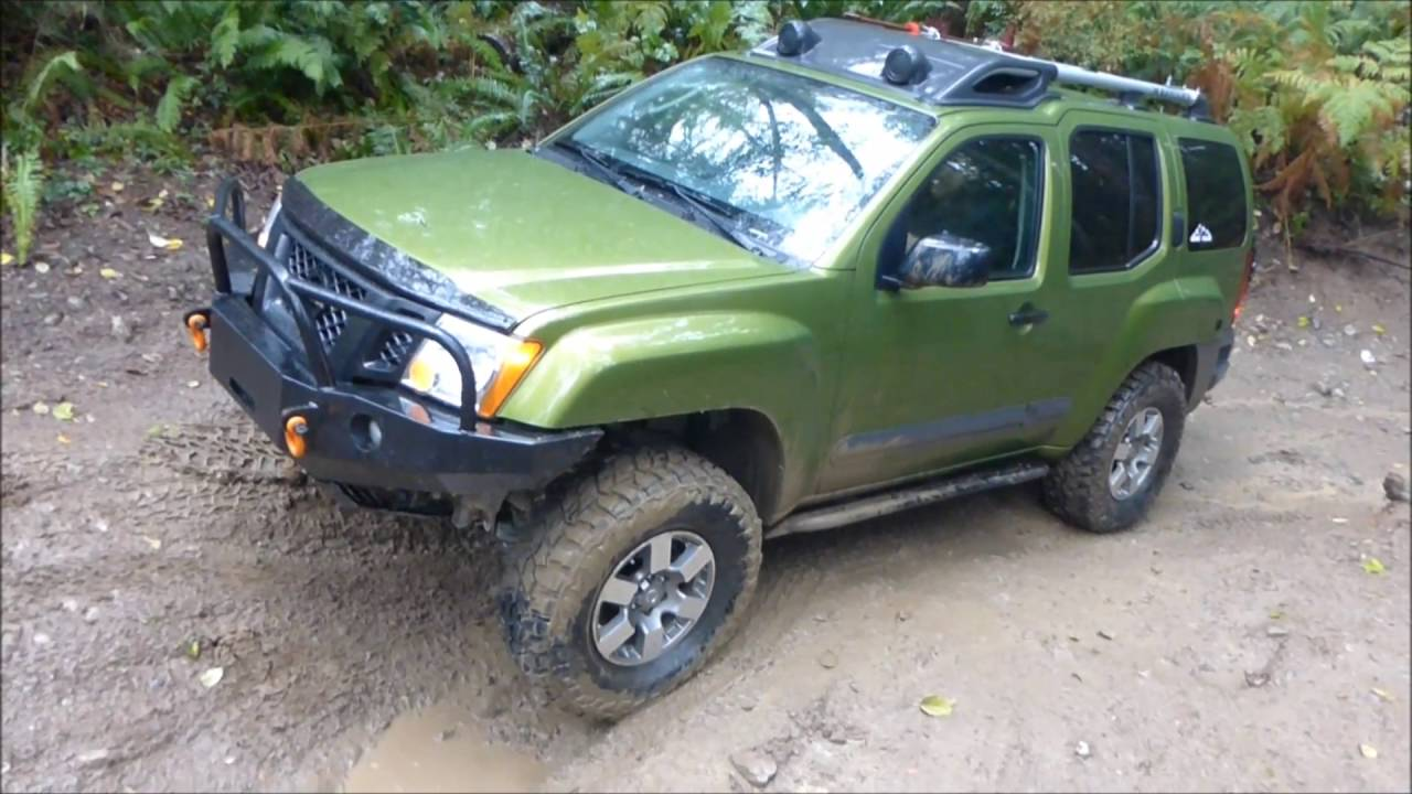 xterra pro 4x on muddy obstacle youtube. Black Bedroom Furniture Sets. Home Design Ideas