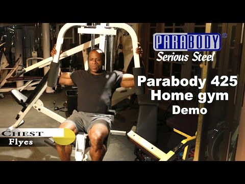 Dr Gene James- Parabody 425 Home Gym demo