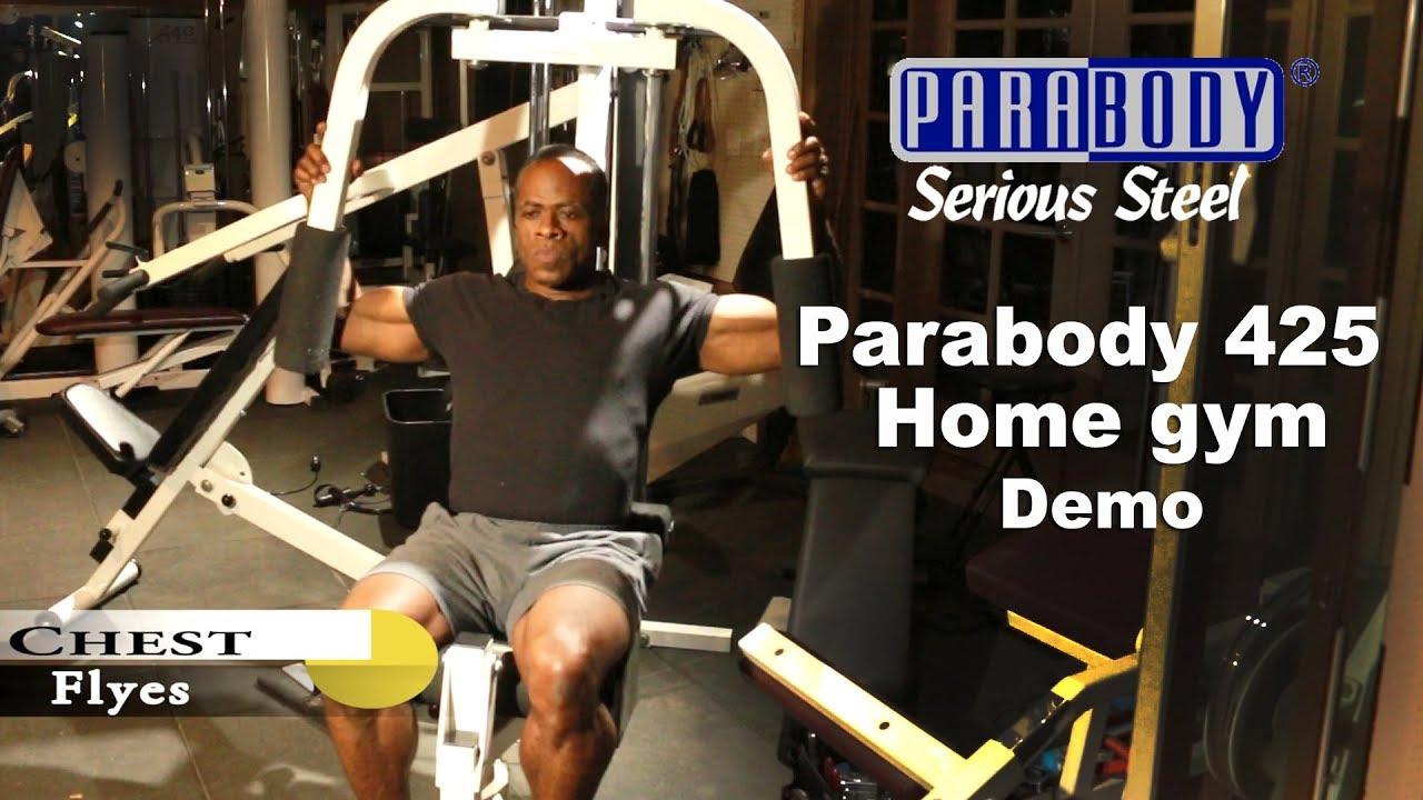 Dr Gene James  Parabody 425 Home Gym Demo