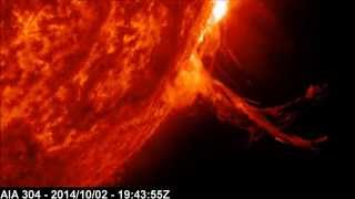 Solar X-ray Event: M7.3 Class Flare | October 02, 2014