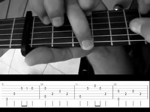 Rod Stewart Sailing Very Easy Fingerstyle Guitar With Tab Youtube