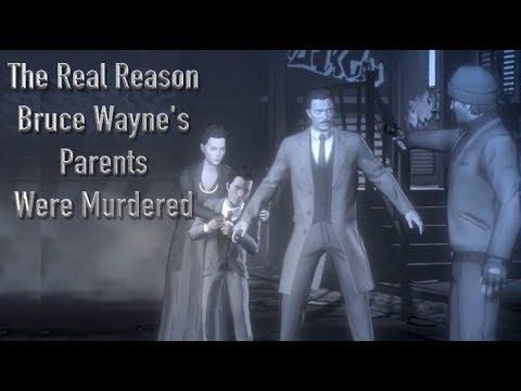 The Real Reason Bruce Wayne's Parents Were Murdered (Telltale Batman)