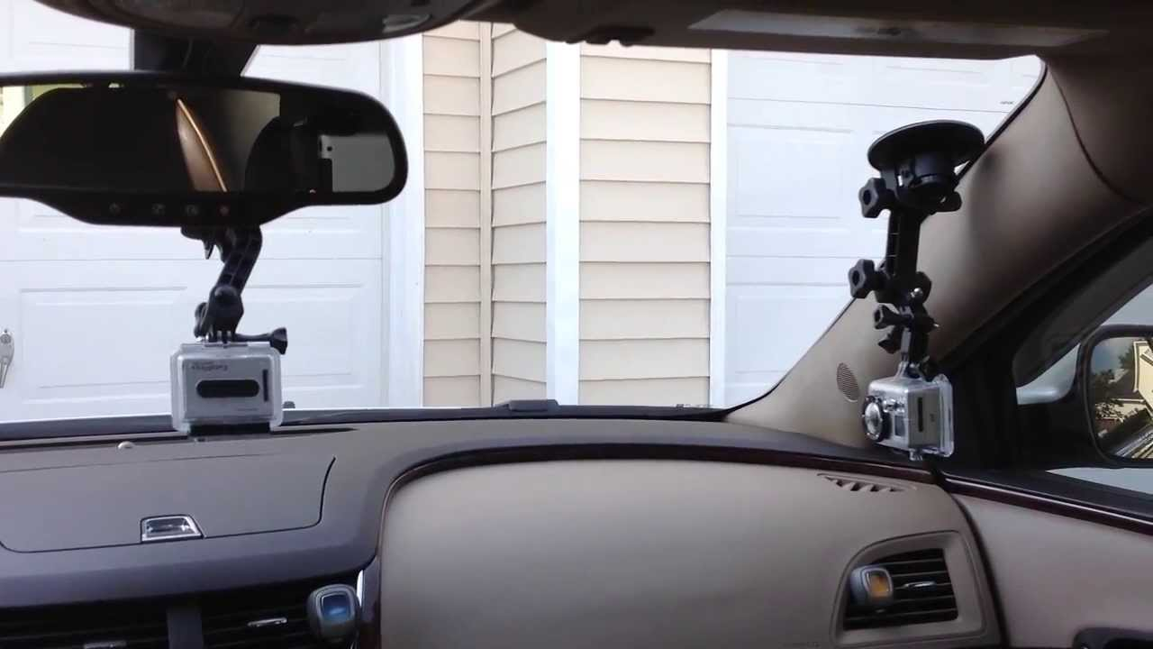 mounting the gopro video camera inside the car youtube. Black Bedroom Furniture Sets. Home Design Ideas