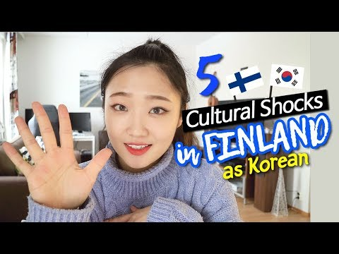 5 Cultural Shocks in FINLAND AS KOREAN