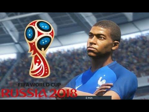 France vs Pérou Coupe du Monde 2018 Russie #02 Match de Poule PES 18