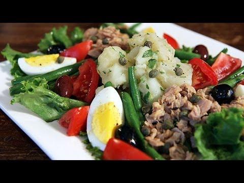 Julia Child's Salade Nicoise How to Make Nicoise Salad Recipe