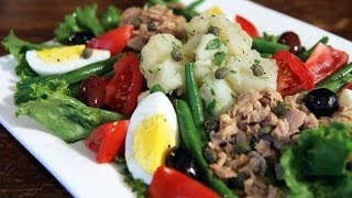 Julia Child's Salade Nicoise - How To Make Nicoise Salad Recipe
