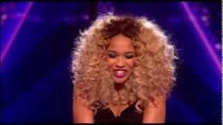 X Factor UK 2013 - Live Show 4 Sat 2nd Nov - Tamera Foster