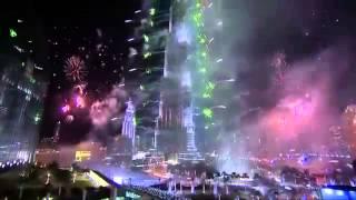 برج خليفة دبي   احتفالات رهيبة فى راس السنة New Year 2014   Burj Khalifa Fireworks 2014   YouTube