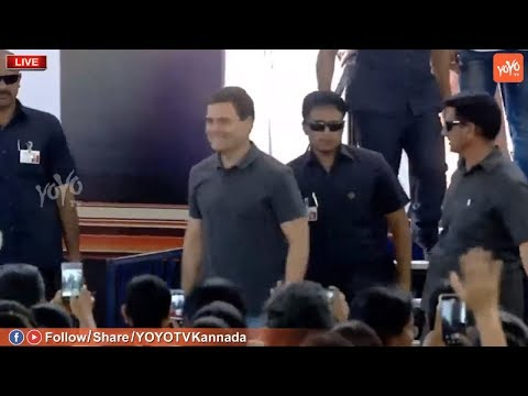 Rahul Gandhi Shining in T Shirt and Jeans At Chennai | Rahul Interaction With Students Event Live