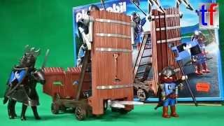 Playmobil 5978 Blue Knights w. Ram / Ritter mit Sturmwagen, Unboxing
