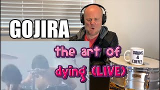 Drum Teacher Reacts: MARIO DUPLANTIER   GOJIRA - The Art Of Dying (Live)   (2020 Reaction)