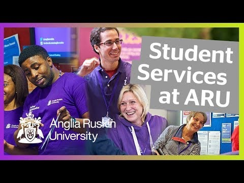 Anglia Ruskin University | Student Services | Here to Help
