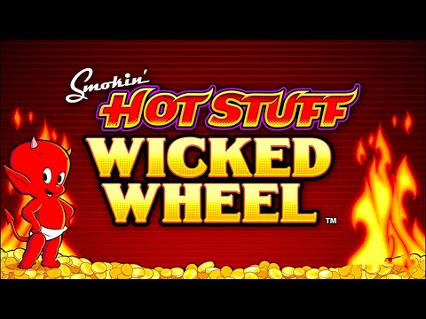 Smokin' Hot Stuff Wicked Wheel Slot - ALL MAX BETS, ALL FEATURES! - 동영상