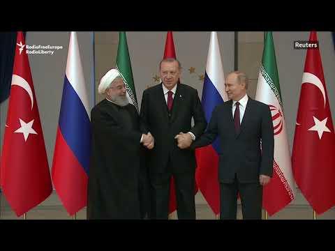 Putin, Rohani In Ankara For Syria Talks With Erdogan