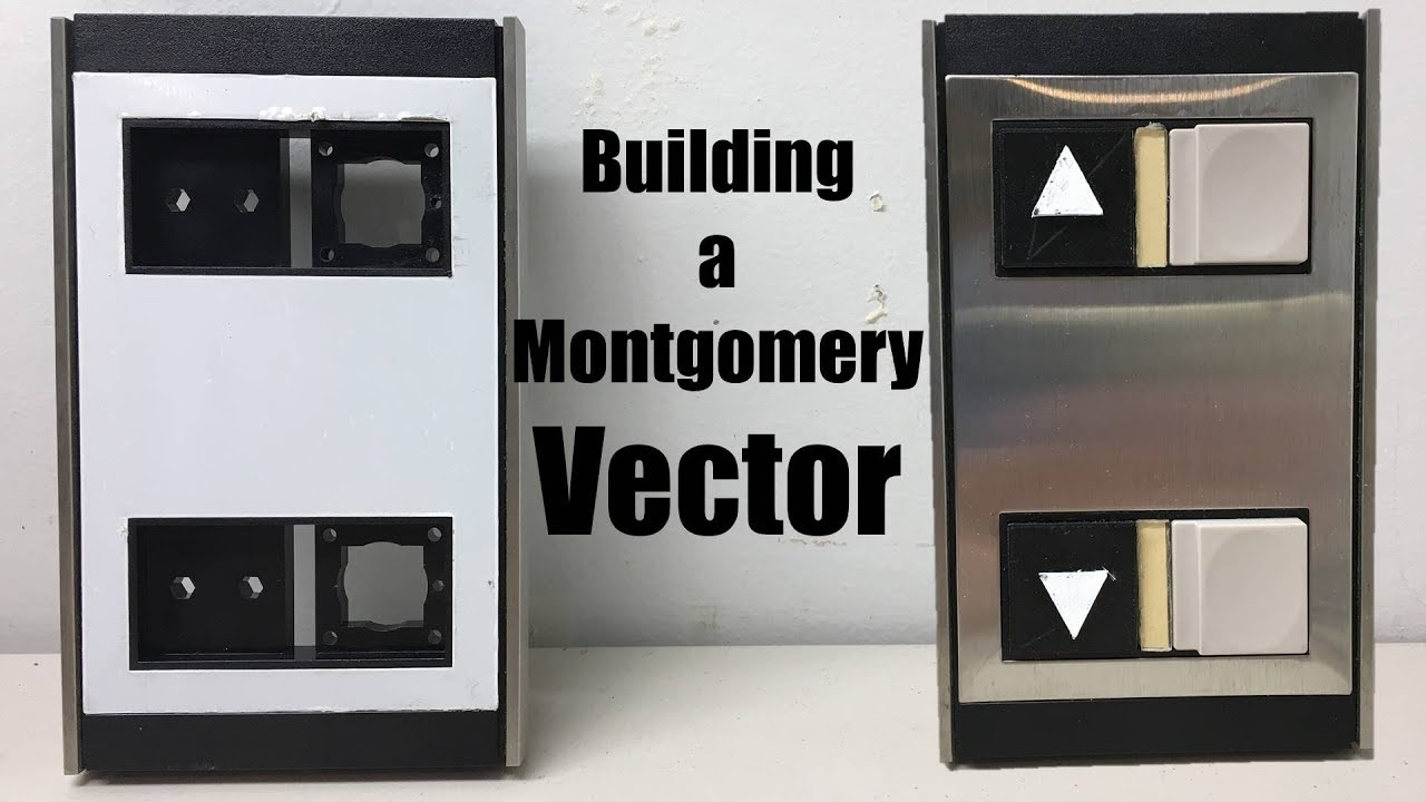 Elevator Part Building and Wiring: Montgomery Vector