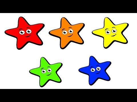 УЧИМ ЦВЕТА звезды