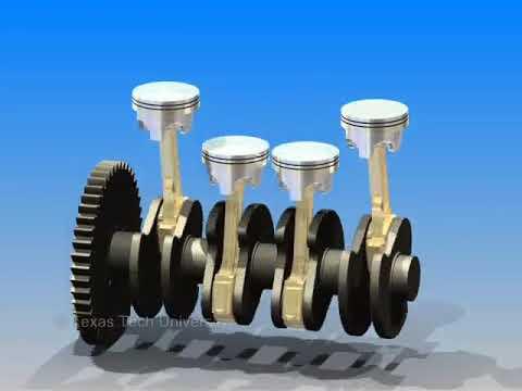 3D Engine Displacement