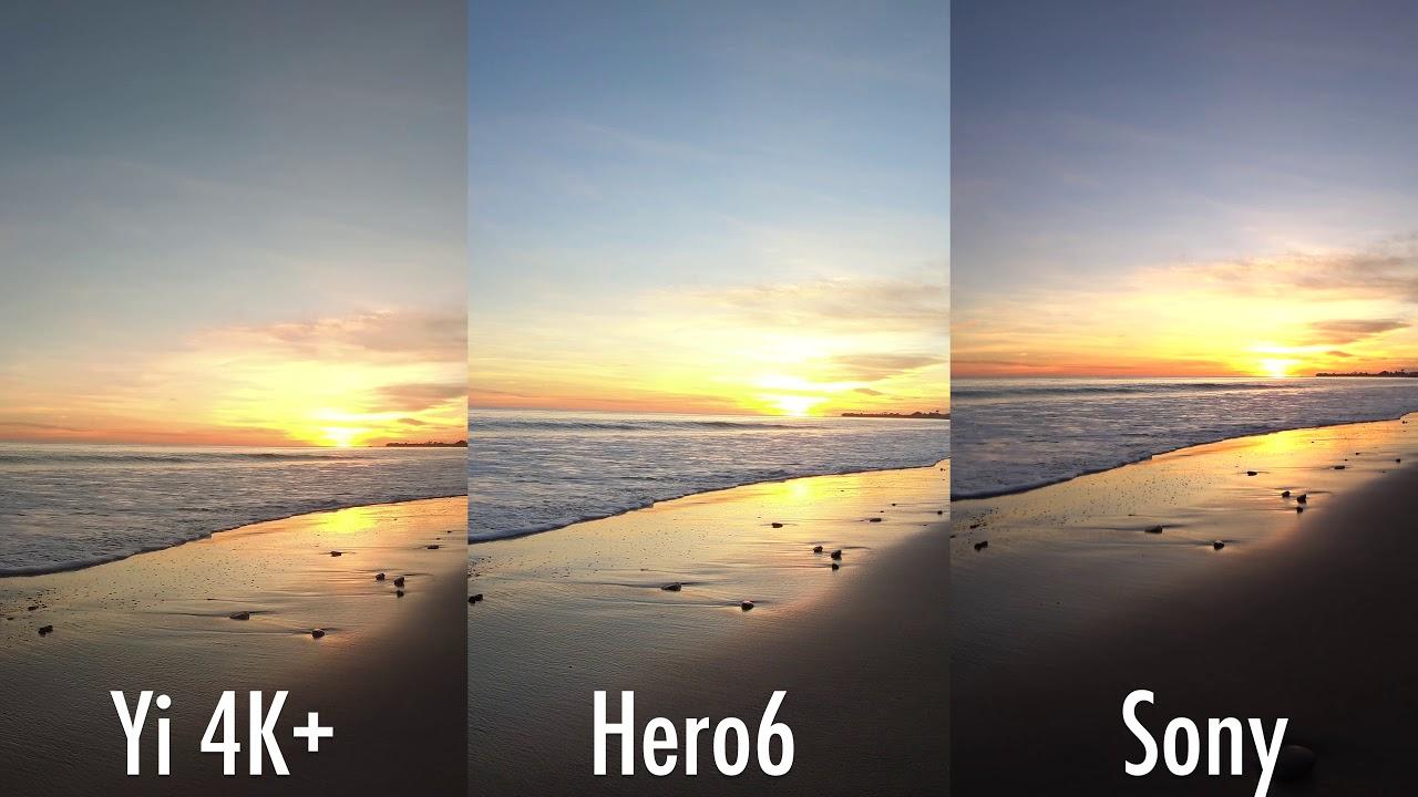 GoPro Hero6 4K Image Comparison (vs Sony X3000R vs Hero5 ...