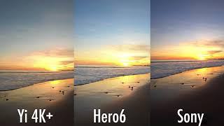 GoPro Hero6 4K Image Comparison (vs Sony X3000R vs Hero5 vs Yi 4K+)