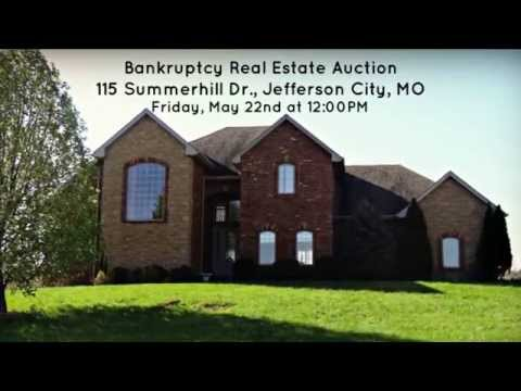 Real Estate Auction at 115 Summerhill Dr., Jefferson City, MO