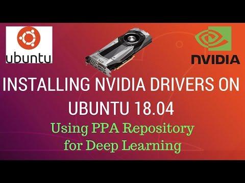 Installing proprietary Nvidia drivers on Ubuntu 18 04 - YouTube