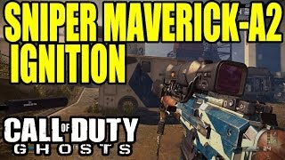 COD GHOSTS : Map IGNITION au Sniper MAVERICK-A2   Onsaulght DLC gameplay