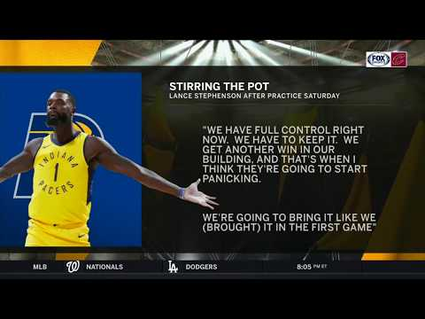 Lance Stephenson provides bulletin-board material for Cavaliers   CAVS-PACERS   NBA PLAYOFFS