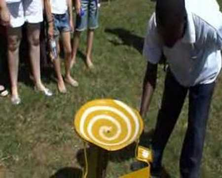 The Equator Water Experiment