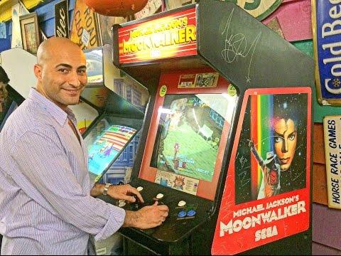"Playing ""Michael Jackson's Moonwalker"" (Arcade) - Video Walkthrough"