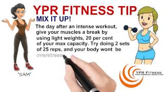 Physical Fitness Tips, Ypr Fitness Barrie Ontario.
