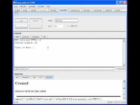 Hacking Using HTTP Methods
