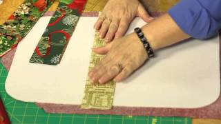 Quilting Quickly: Christmas Gathering - Holiday Quilt-As-You-Go Placemats