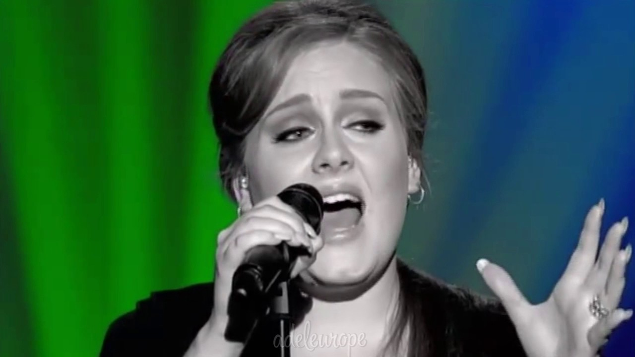 Adele You Make Me Feel Like A Natural Woman