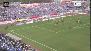 2015年3月28日(土) ニッパツ三ツ沢球技場 ヤマザキナビスコカップ 予...