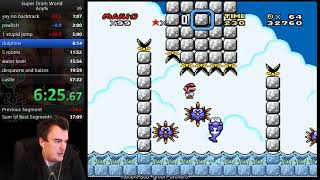 Super Dram World speedrun in 44:55