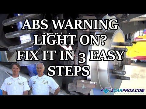 ABS WARNING LIGHT ON? FIX IT IN 3 EASY STEPS
