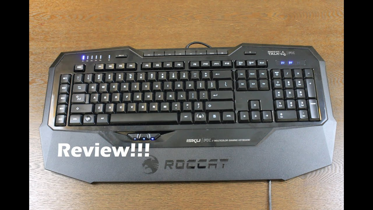 dad49d9038a Roccat ISKU FX Review - YouTube