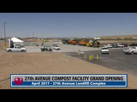 Phoenix Opens New 27-acre Compost Facility to Divert More Food Waste and Green Organics