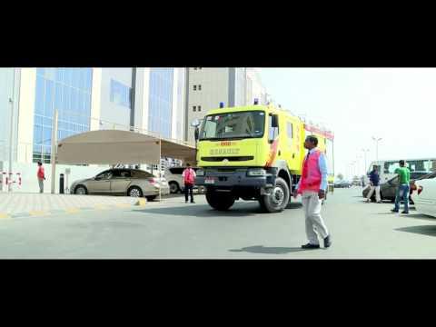 Major Fire Evacuation Mock Drill - Life Care Hospital, Mussaffah